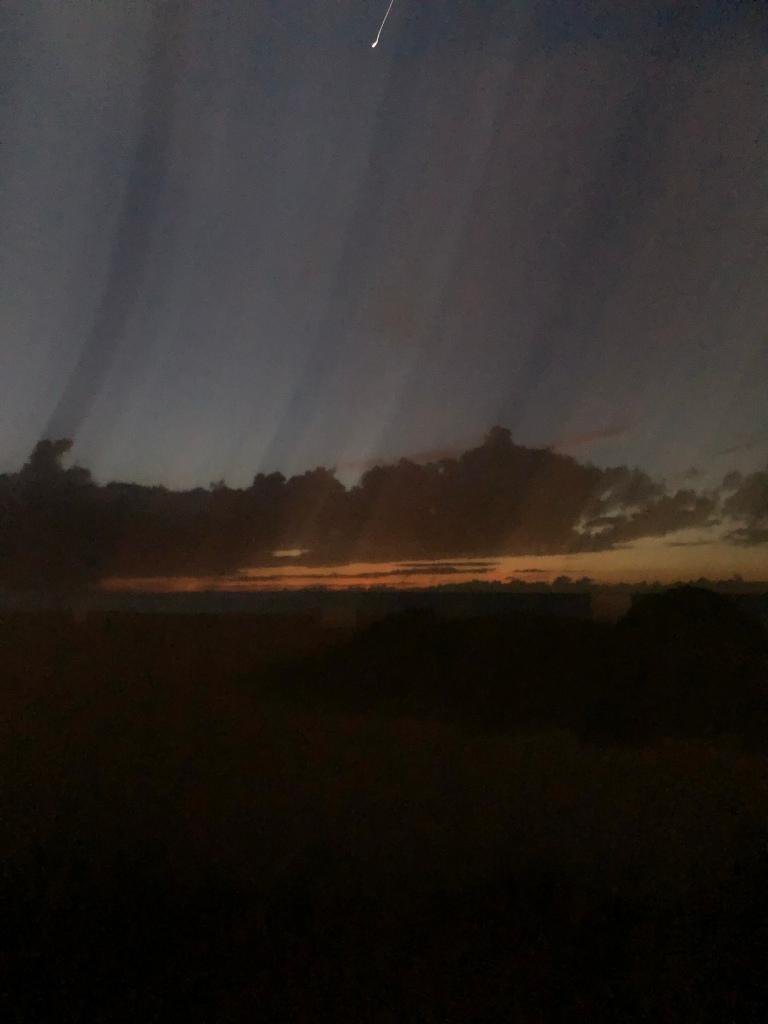 Abstract dawn